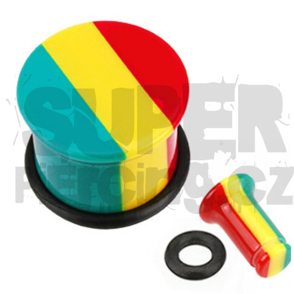 Plug do ucha 12mm rasta