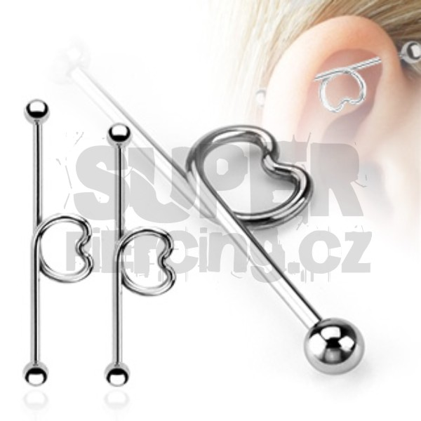 Piercing industrial 1,6x32mm