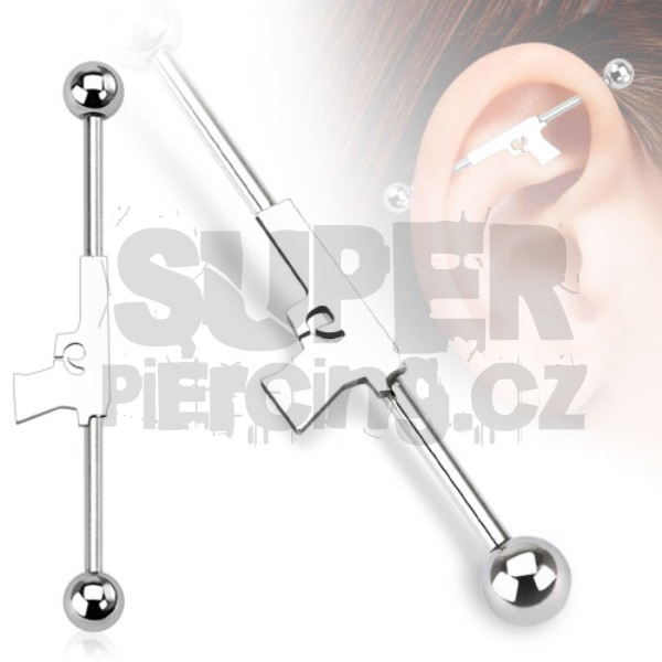 Piercing industrial 1,6x38mm