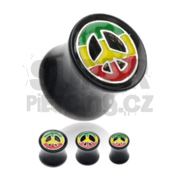 Plug do ucha 8mm peace
