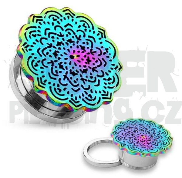 Plug do ucha 12 mm mandala