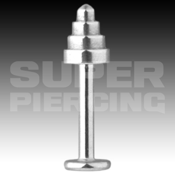 Piercing do brady, labreta 1,6x4x6mm