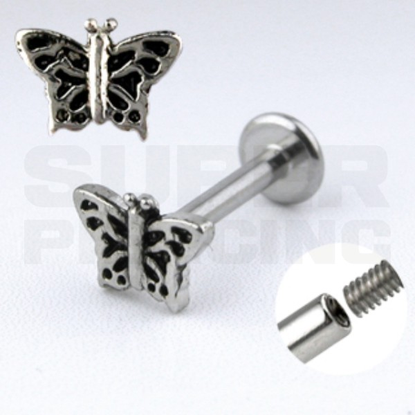 Piercing do brady, labreta 1,6x10mm